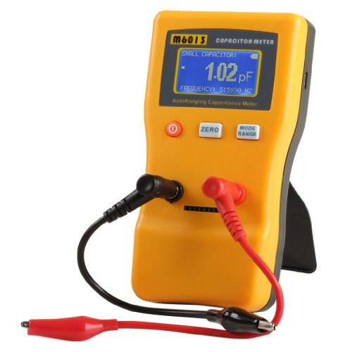 Excelvan M6013 Digital Auto Ranging Capacitance Meter Capacitor Tester Professional 0.01pF to 470000uF