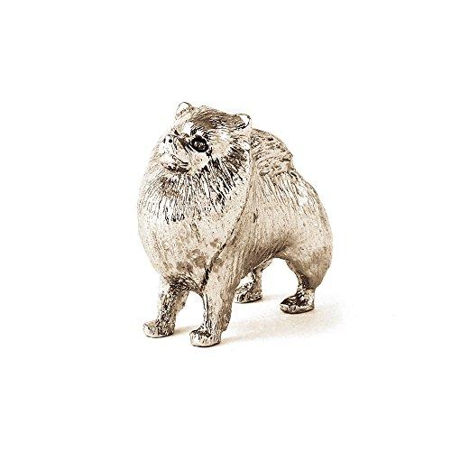 ポメラニアン イギリス製 アート ドッグ フィギュア コレクションの商品画像