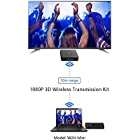 Dreamyth MEASY Wireless Video HDMI Transmitter & Receiver for Streaming 1080P HD 3D TV
