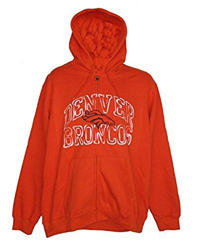 【お気に入り】 Denver Broncos大人用Large Printジャケット/ Full Zipフード付きDistressed Printジャケット/ B06Y4BWLLD Sweatshirt – オレンジ Sweatshirt B06Y4BWLLD, jewelry CHESS:dba34e2f --- a0267596.xsph.ru