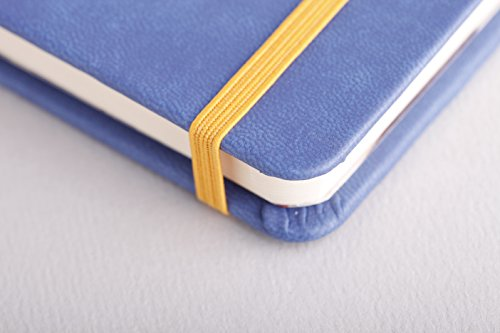 Rhodia Rhodiarama A5 Webnotebook, 5.5 in x 8.25, Lined - Sapphire (118748) by Rhodia (Image #3)