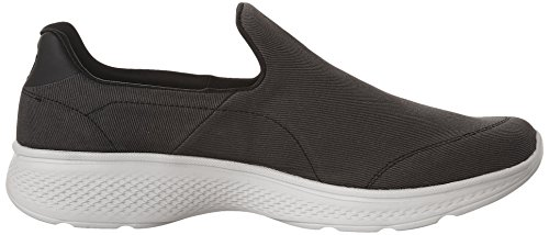 Gray Basses Go Skechers Baskets Black Parent Homme 4 Walk nAnvIZxq8