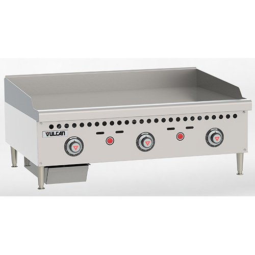 Vulcan Gas Griddle (Vulcan VCRG36T Vulcan Restaurant Gas Griddle - Snap-Action Thermostat - VCRG36T)
