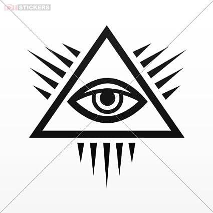 Amazon Stickers Masonic Symbol Size 5 X 49 Inches Black