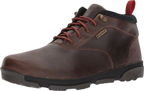 OLUKAI New Men's Kualono WP Ankle Boot Carob/Black 8.5