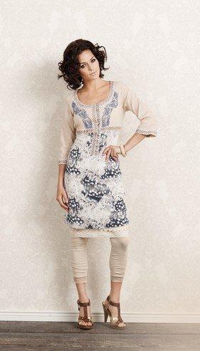 Ombre Cream Kleid Blue Amelia Cream Kleid 7zZqgg