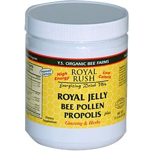 Freeze Dried Royal Jelly + Pollen, Propolis, Ginseng & Herbs - 21,700mg - 11 oz - Powder