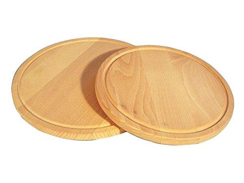 Credenza Con Tagliere : Tagliere legno tondo cm30xh1 5 con raccoglisugo glooke selected