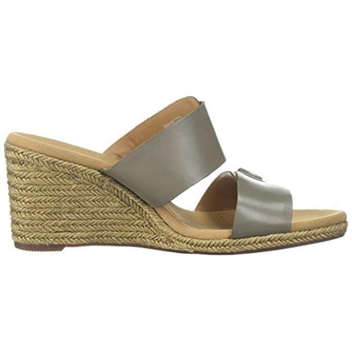 Clarks Medium Women's Borse E Devin Sandali Da Leather Sage Donna Us Platform 7 Lafley Scarpe