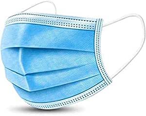 Surgical 3-Layer Anti-Dust Breathable Disposable Earloop Medical Sanitary Face Mask -100 Pieces