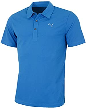 Golf Men's Essential Golf Polo Shirt - US S - Strong Blue