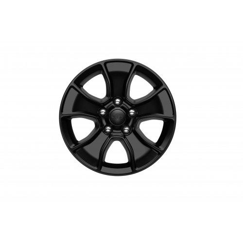Mopar 77072470AB Jeep Wrangler 17 x 8.5 Jet Black Wheel