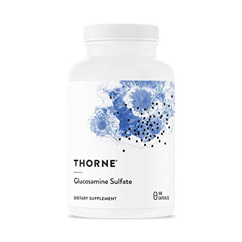 - Thorne Research - Glucosamine Sulfate - Joint Support Supplement - 180 Capsules