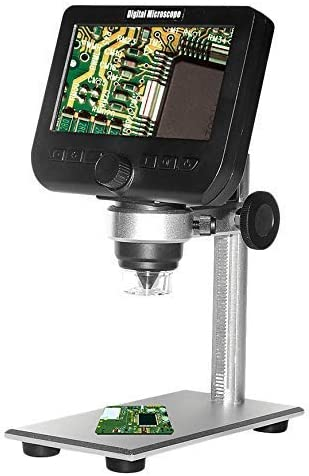 Handheld Rechargeable 1000X Digital WiFi Microscope 4.3 1080P LCD Screen 8 Led 2Mp Camera Magnifier for iOS Android Win Magnification