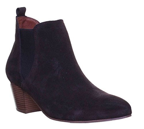 Reece Ankle Justin 100 Brown Cuban Women Suede Chelsea Pointed Boot Heel dBxxwF8f