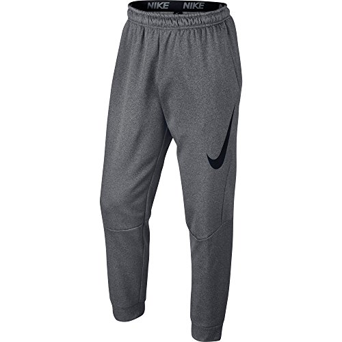 New Nike Men's Therma Training Pants Carbon Heather/Black XX-Large