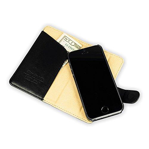 QIOTTI QP-B-0040-00-IP5S Book Classic  für Apple iPhone 5/5S  in Magic schwarz