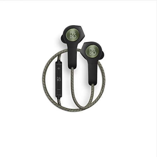 B&O PLAY by Bang & Olufsen Beoplay H5 Wireless Bluetooth Earphone Headphone (Moss Green)