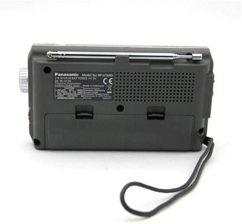 Panasonic RF-P150DEG-S - Radio portátil (370mW, FM/Am, Radio de Bolsillo, LED, Radio Analógica) Color Plata: BLOCK: Amazon.es: Electrónica