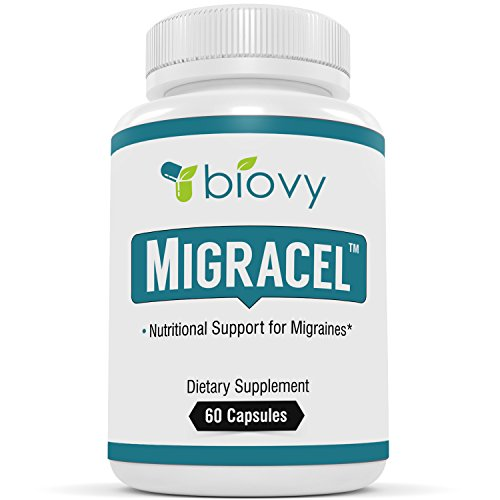 Migracel™ - The Best Support For A Clear, Undisturbed Mind by Biovy - Specially Formulated To Be The Most Effective Remedy To Support Relief From Mental Tension & Stress Homeopathic Support