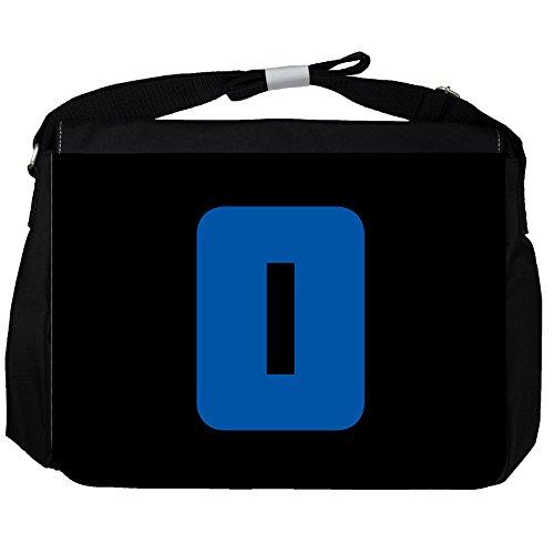 O - Alfabeto / Iniziale - Borsa A Tracolla Unisex