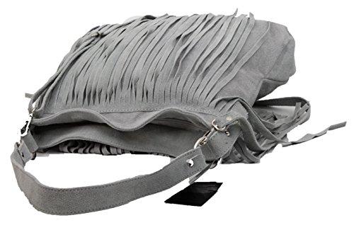 My-Musthave, Borsa a spalla uomo grigio grigio chiaro Medio