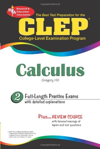 CLEP Calculus (CLEP Test Preparation)
