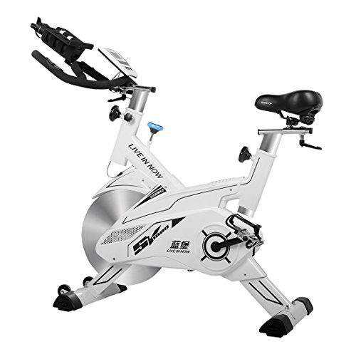 L NOW Fitness Indoor Cycling Bike Stationary Trainer