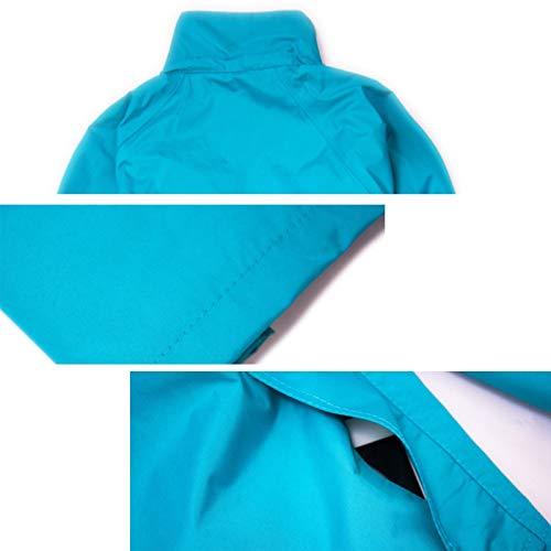 colore Lake Pioggia Da Dimensioni Xxl Blue Blue Per Donna Hbwjsh Adulto Uomo E Impermeabile Bxqz86