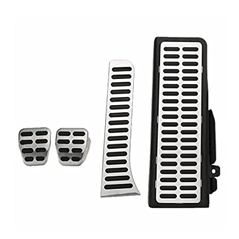 Amazon.com: SONSAN 4Pcs Clutch Fuel Brake Foot Rest MT Pedals Pads Steel for VW Jetta MK5 Golf MK6: Sports & Outdoors