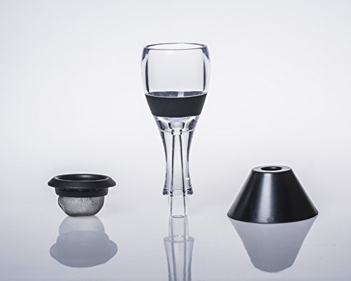 Wine Aerator, Diffuser, Pourer, Decanter - with Carrying Pouch by Artteastry (Image #8)