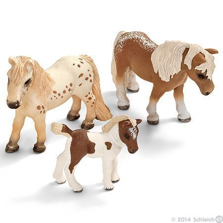schleich-falabella-family-of-three-new-and-in-gift-bag