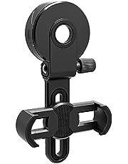 Cell Phone Adapter Bracket Clip Mount Universal Soft Rubber for Binocular Monocular Spotting Scope Telescope