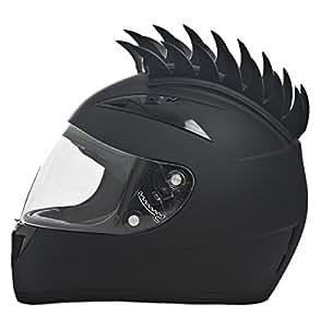 Daytona Shadow Full Face DOT Motorcycle Helmet w/ Helmet Mohawk (Medium)