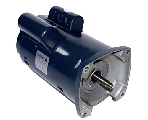 (Advantage Pump Motor Two HP Single Speed Square Flange 56 Y 100% Item 1 Year Warranty)
