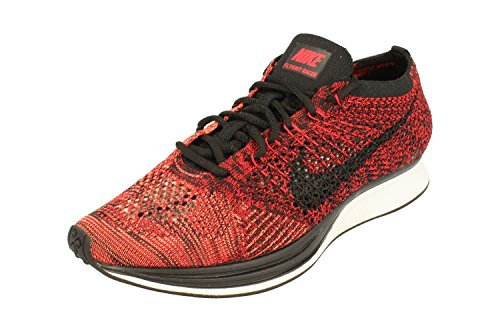 Zapatillas De Running Nike Unisex Flyknit Streak University Red Black 608