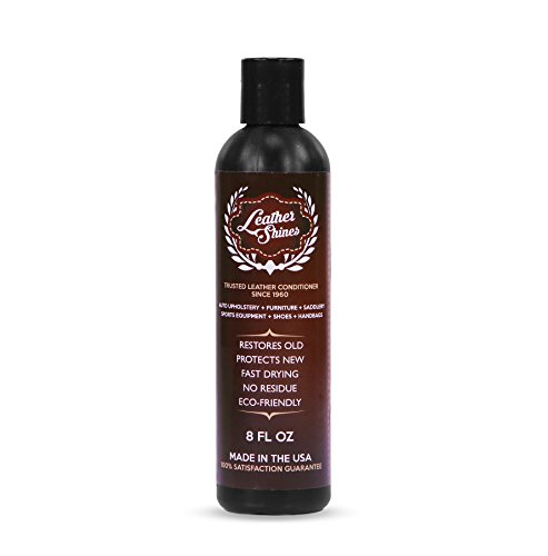 Leather Shines Leather Conditioner - Revive Your Worn Sofa, Couch, Furniture, Leather Jacket, Boots and Shoes, and Purses