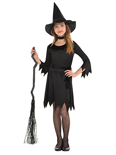 amscan Girls Lil Witch Costume - Medium (8-10) Black - http://coolthings.us