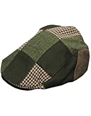 Walker & Hawkes - Uni-Sex Wool Patch Country Flat Cap