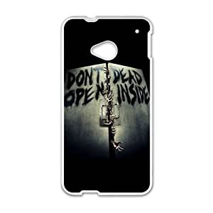 DAZHAHUI Don't Dead Open Inside Scary Pattern Brand New And Custom Hard Case Cover Protector For HTC One M7