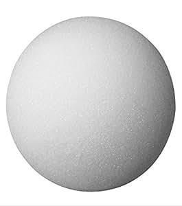 FloraCraft Packaged Styrofoam Balls, 2-Inch Snowballs, White, 12 Per Package