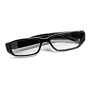 MNGREATS Hidden Camera Glasses HD Loop Video Recorder Cool Surveillance Spy eyeglasses with 8GB SD Card