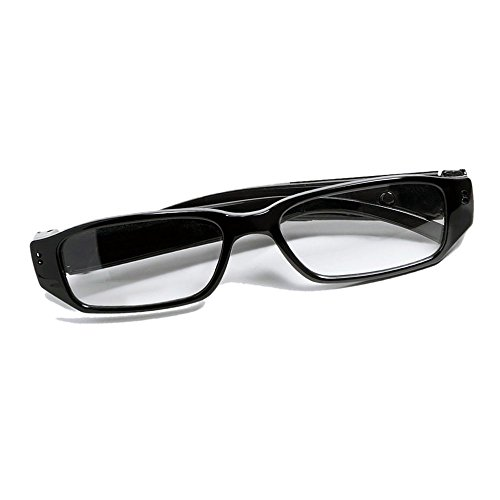 MNGREATS Hidden Camera Glasses HD Loop Video Recorder Cool Surveillance Spy eyeglasses with 8GB SD - Camera Glasses Eye