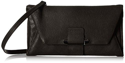 - Kooba Handbags Ruby Envelop Wallet on a String, Black