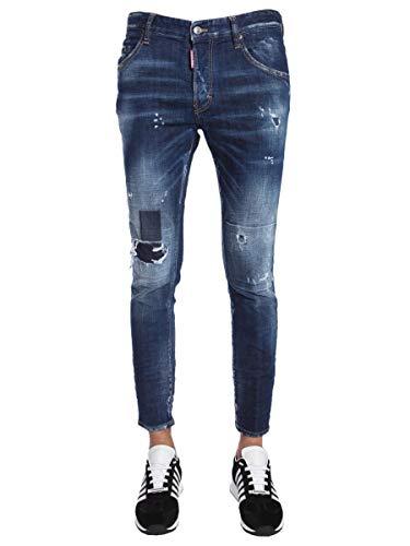 Dsquared2 Uomo cotone Jeans blu in S74lb0436s30342470 qFn4RwdCq