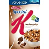 Kellogg's, Special K, Chocolatey Delight Cereal, 16.5oz Box (Pack of 4)