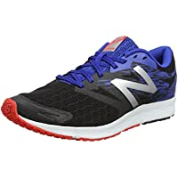 New Balance Men's Flash V1 Running Shoe (various sizes) (Black/Blue, Cyclone/Energy Lime/Blue, Orange/Navy)