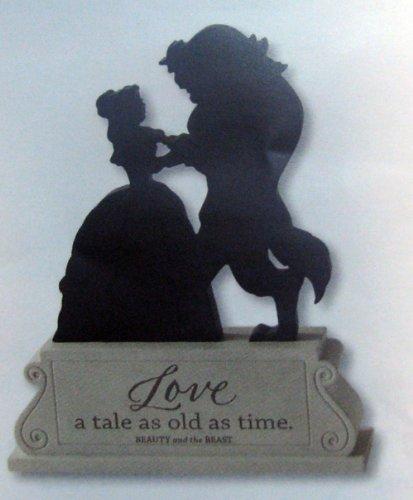 Hallmark Disney DYG9649 Beauty and the Beast Silhouette