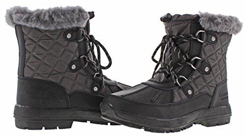 Bearpaw BETHANY, Kaltes Wetter Stiefel Mujeres, Geschlossener Zeh, Leder, Groesse 7 US /38 EU