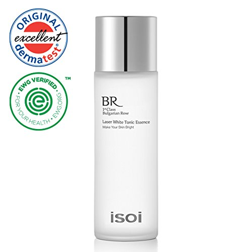 isoi Laser White Tonic Essence 130ml - brightening toner, prevent dark spots, for bright and clear skin